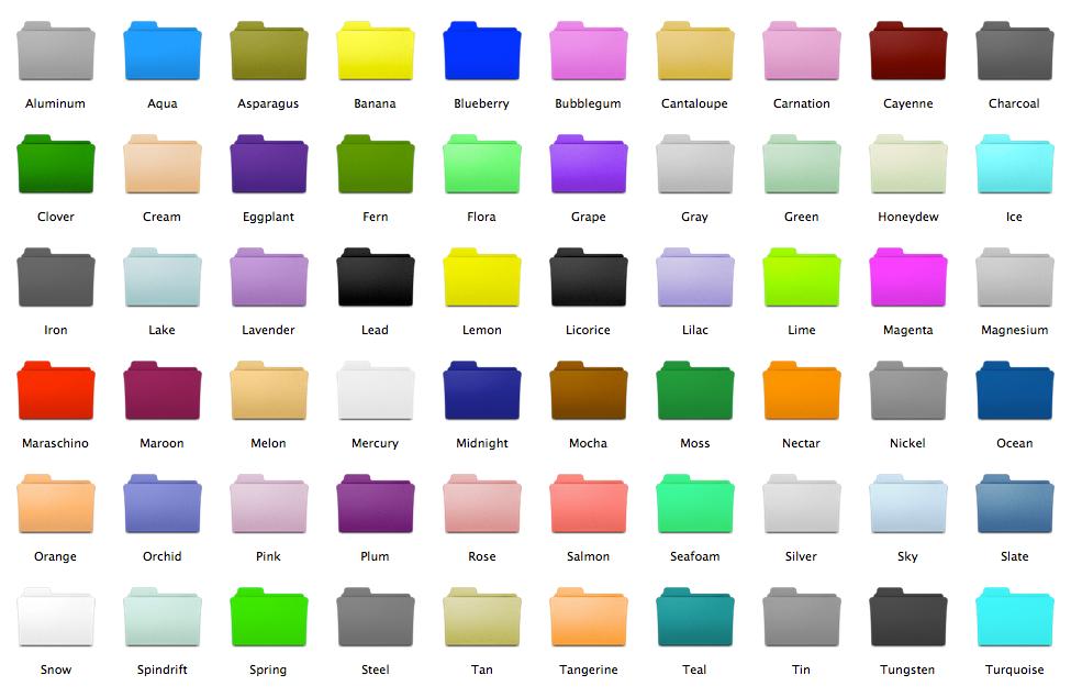 برنامج تغير لون فولدرات الكمبيوتر بأي لون تريده مع الشرح P_14501nebf6
